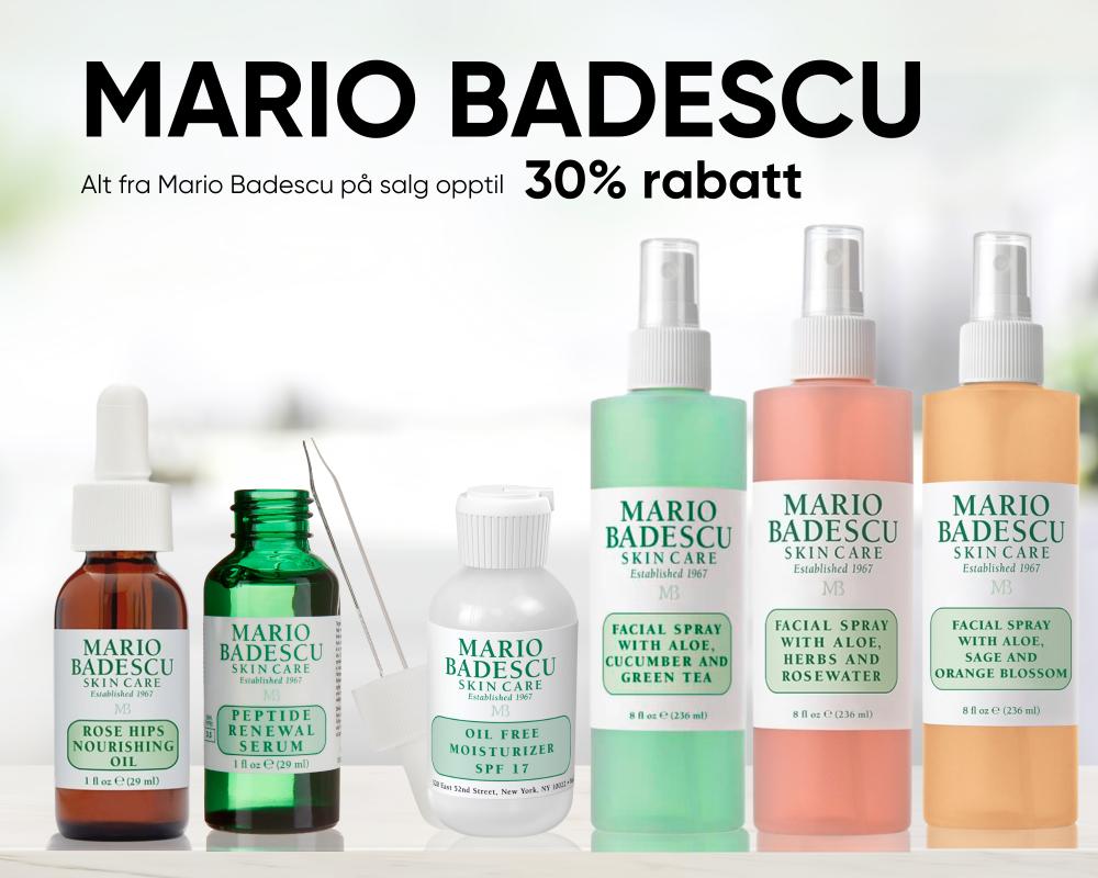 Mario Badescu ALT PÅ SALG- billigst i Norge