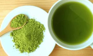 Matcha green tea for huden din