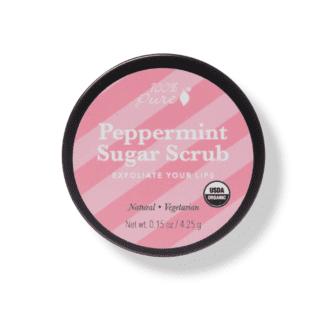 peppermint lip scrub 100% Pure