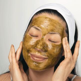 100% PUre Matcha Oat Face Scrub