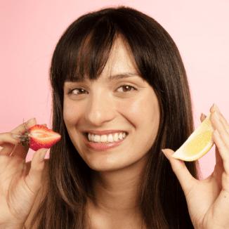100% Pure strawberry lemonade Jelly Scrub