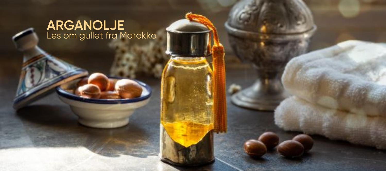 alt om arganoljen les om gullet fra Marokko