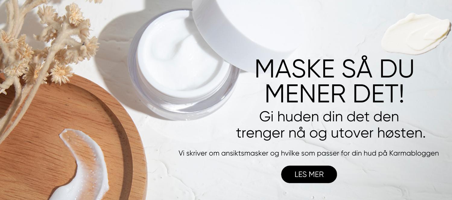 Alt om ansiktsmasker på karmabloggen