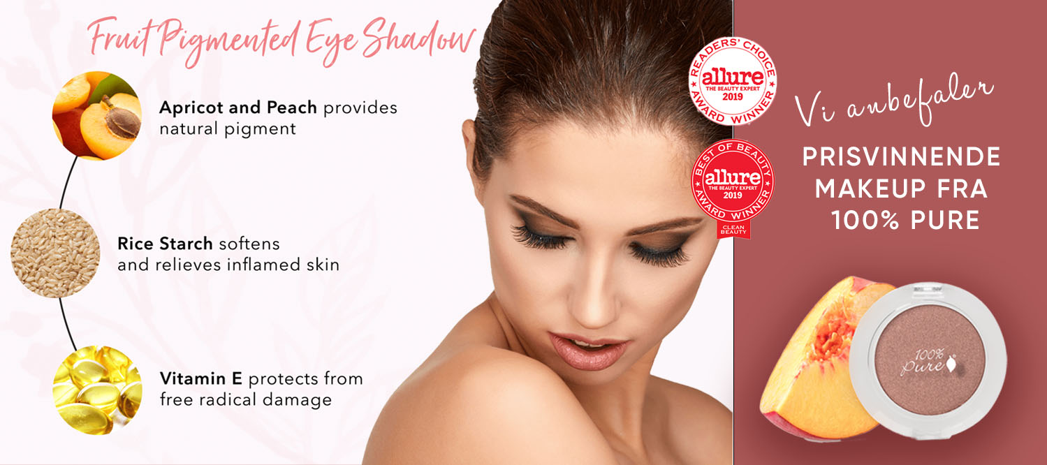 makeupforside anbefaler fra 100% Pure